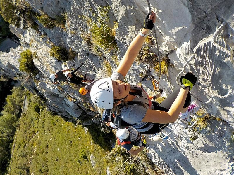 VIA FERRATA INTERMEDIAIRE